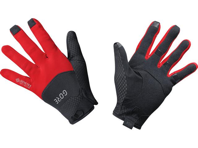 GORE WEAR C5 Guantes Gore-Tex Infinium, black/red